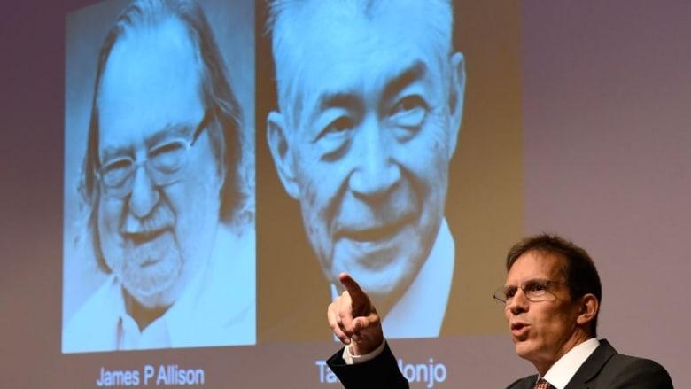 علاج السرطان يمنح جائزة نوبل في الطب لعالمين من أمريكا واليابان
