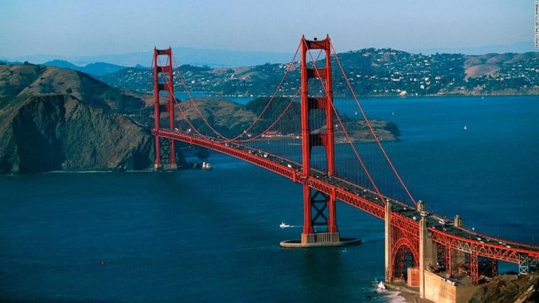 إليك بعض أسرار جسر البوابة الذهبية أيقونة سان فرانسيسكو