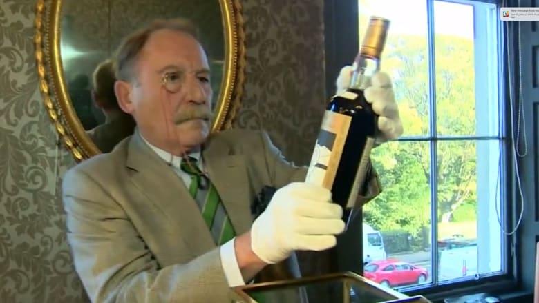 """تُلقب بـ""""الكأس المقدسة"""".. زجاجة ويسكي بأكثر من مليون دولار"""