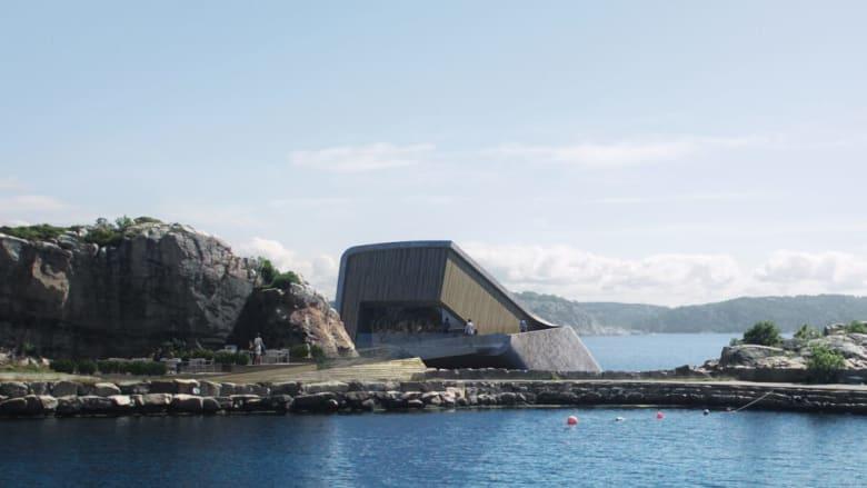 افتتاح أكبر مطعم مغمور تحت الماء قريباً.. هل تزوره؟