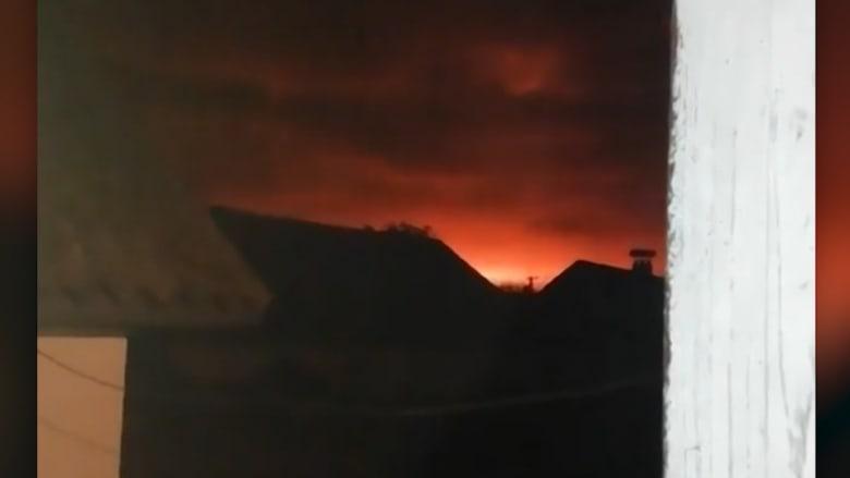 ukrain explosion