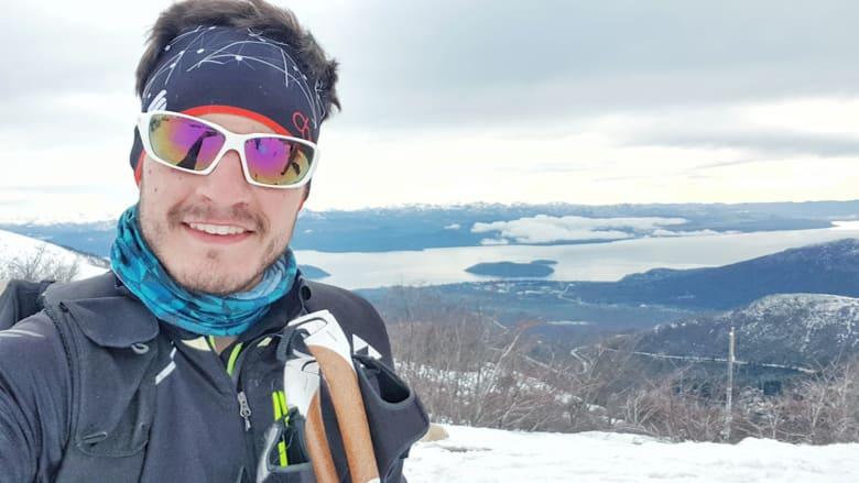 سامر طوق.. أول لبناني يتأهل عن فئة التزلج الريفي بالأولمبياد