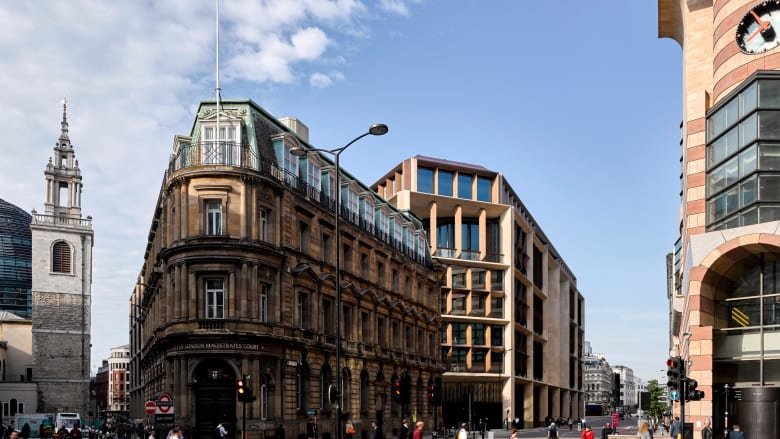 """مقر """"بلومبيرغ"""" الأوروبي يفوز بأرقى جائزة معمارية في المملكة المتحدة"""