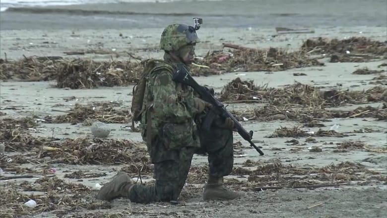 اليابان وأمريكا تجريان تدريبات عسكرية.. شاهد ترسانتهما