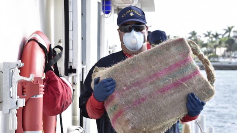 خفر السواحل الأمريكية تستولي على مخدرات بقيمة 47 مليون دولار