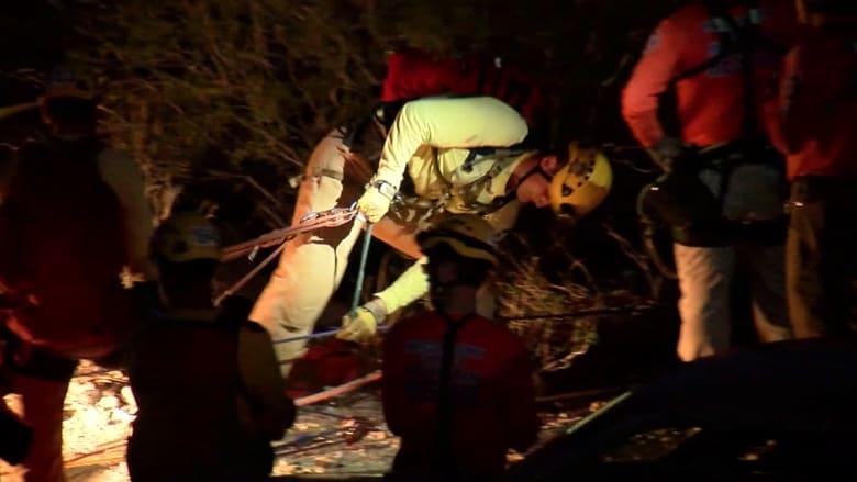 إنقاذ رجل بعد يومين من سقوطه في منجم بعمق 30 مترا