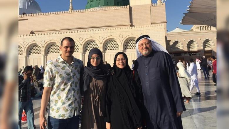 عائلة جمال خاشقجي