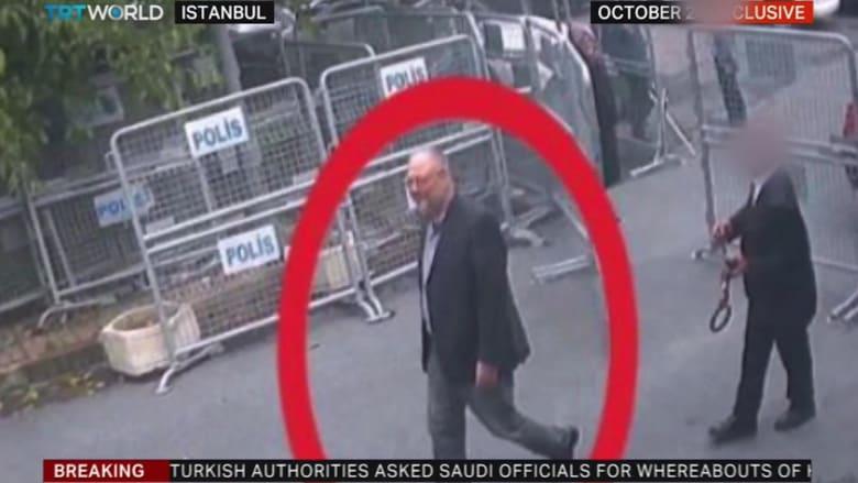صور تظهر زاوية جديدة لدخول خاشقجي إلى القنصلية.. فماذا تكشف؟
