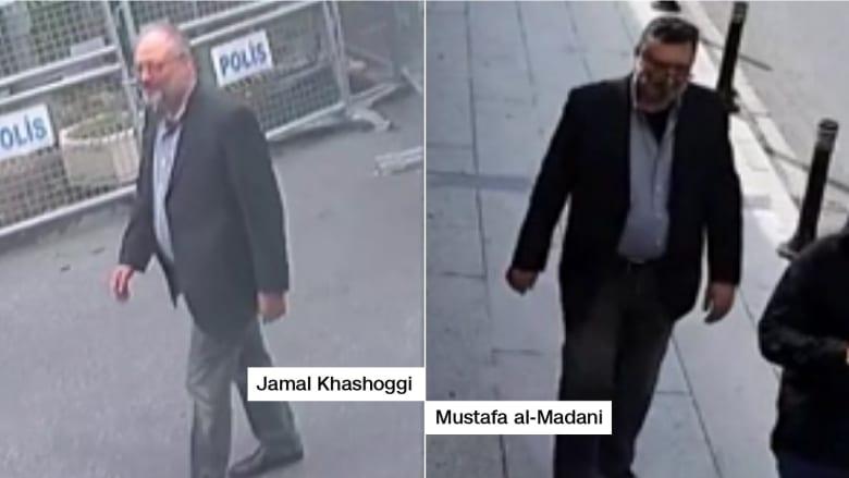 مصدر تركي: كاميرات مراقبة تظهر رجلا بملابس خاشقجي بعد مقتله