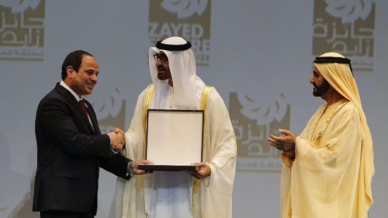 السيسي يشكر الإمارات وحسين الجسمي في احتفالية ذكرى حرب أكتوبر