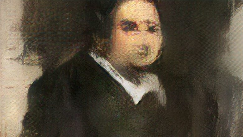 لوحة من صنع الذكاء الاصطناعي تحطم التوقعات في مزاد