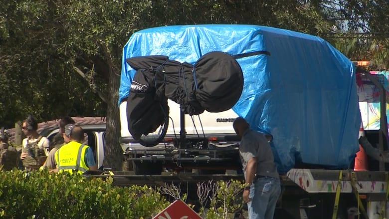 """الشرطة تحتجز شاحنة يشتبه بعلاقتها بـ""""الطرود المشبوهة"""""""