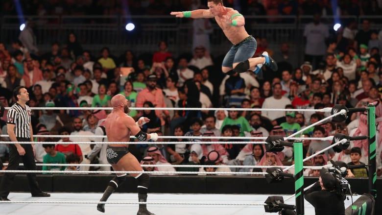 تركي آل الشيخ يعلن بيع جميع تذاكر WWE خلال 3 ساعات