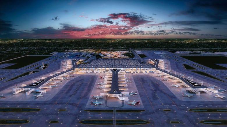 افتتح مطار اسطنبول الجديد في تركيا رسمياً في 29 أكتوبر 2018.