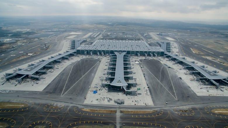"""فاز تصميم مطار اسطنبول الجديد بالجائزة الأولى في فئة """"مشاريع المستقبل - البنية التحتية""""، في مهرجان العمارة العالمي."""