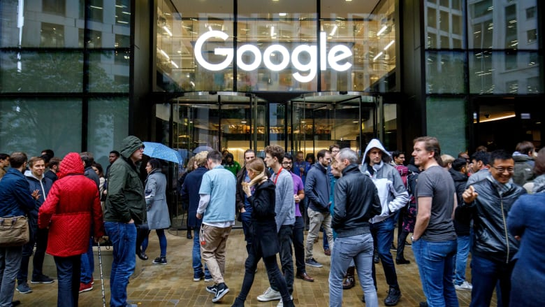 إضراب في مقار غوغل حول العالم بسبب التحرش