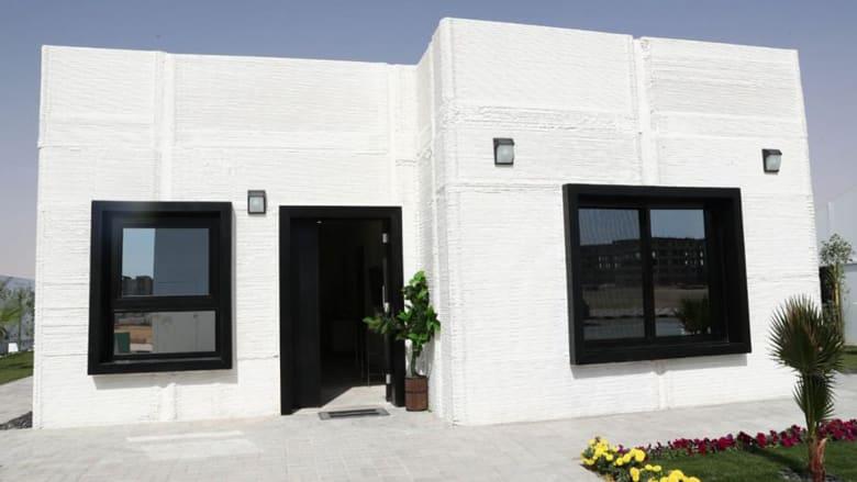 بناء أول منزل بالطباعة ثلاثية الأبعاد في السعودية