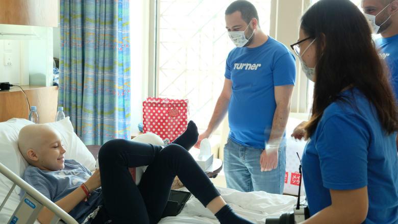 """""""ترنر"""" تشارك في يوم تطوعّي مع الأطفال بمستشفى ميديكلينيك"""