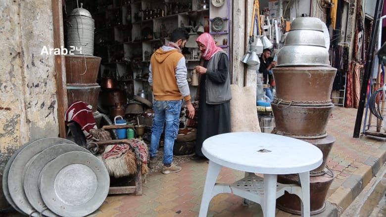 سوق العرب التراثي يعيد ألق الحياة في الرقة