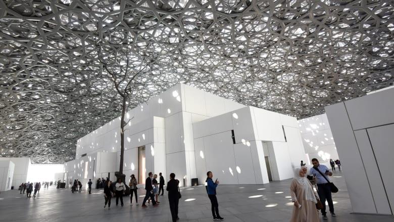 في عامه الأول.. متحف اللوفر بأبوظبي يستقبل مليون زائر