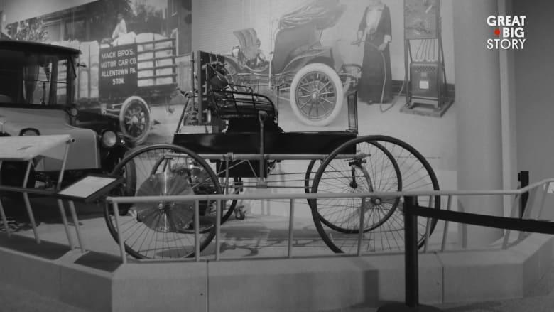 كيف كانت قيادة سيارات الأجرة في نيويورك في العام 1895؟