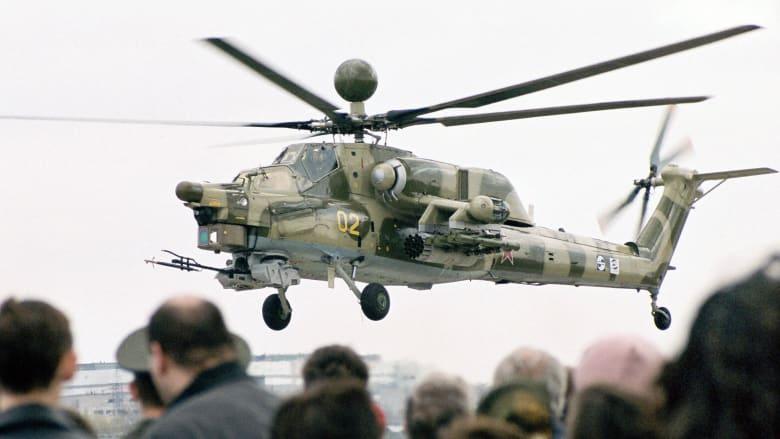 """تعرف على """"صياد الليل"""".. أحدث مروحيات الجيش الروسي"""