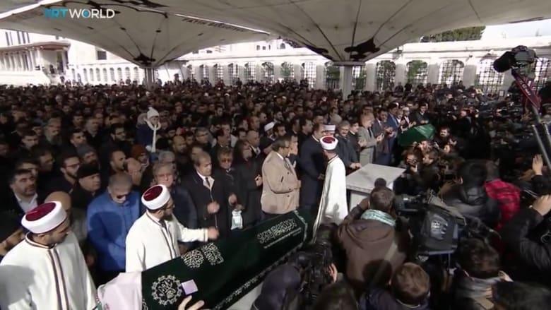 جنازة وإقامة صلاة الغائب على خاشقجي في إسطنبول