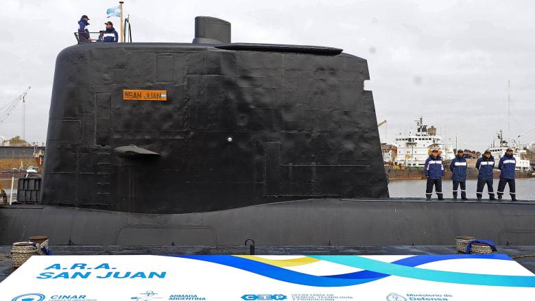 العثور على غواصة أرجنتينية فقدت منذ عام وعلى متنها 44 بحاراً