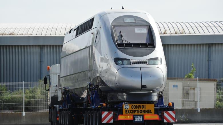قطار TGV السريع في المغرب