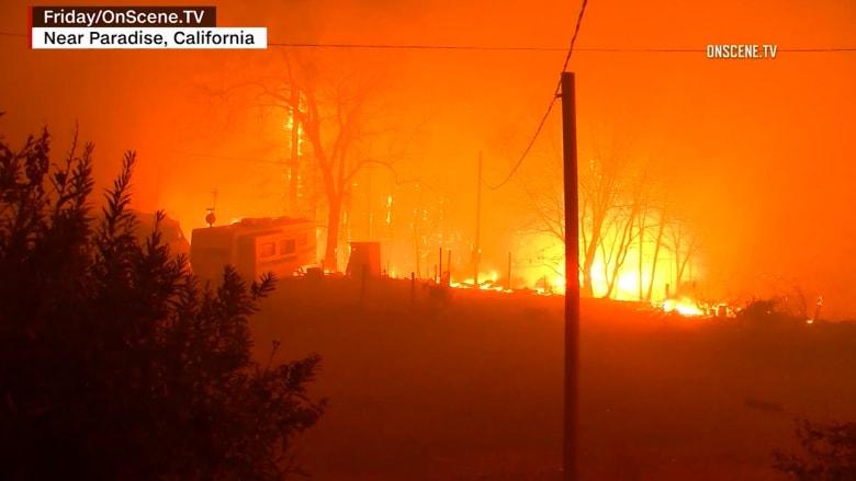 حرائق كاليفورنيا.. 76 قتيلا وقرابة 1300 مفقودين
