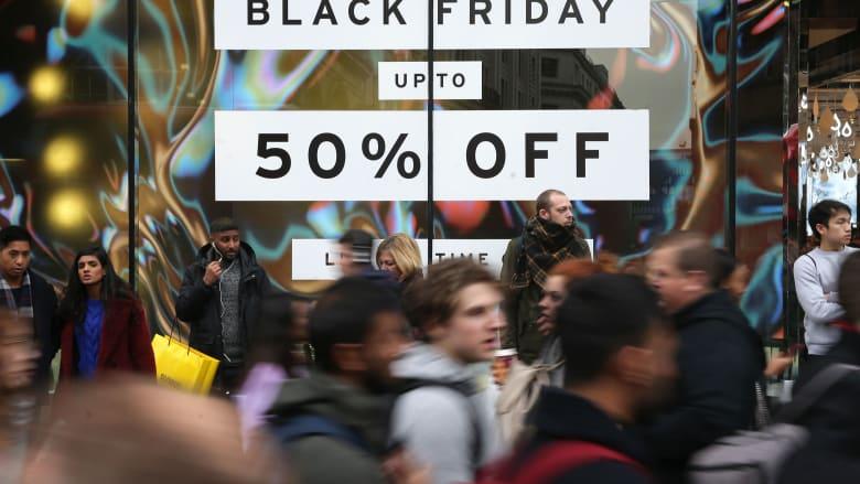 كم قيمة نفقات التسوق في البلاك فرايداي؟
