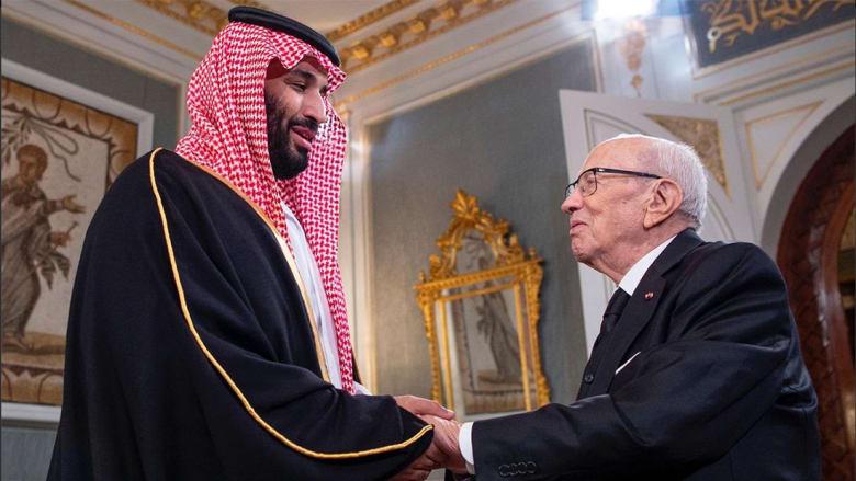 السبسي عن محمد بن سلمان: شرفني بقوله أنا ابنك