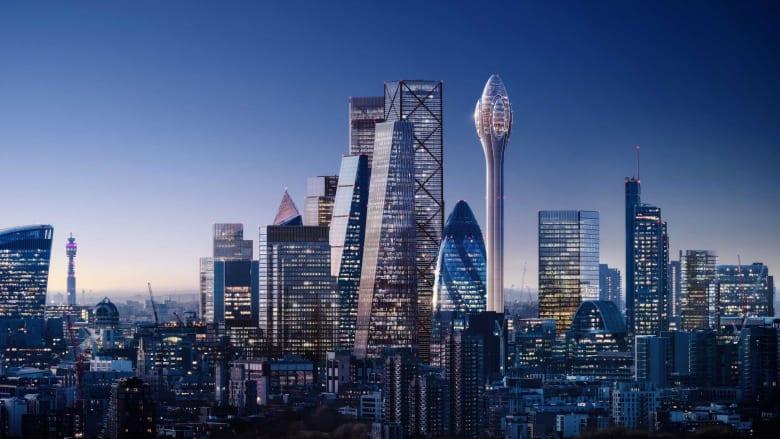 أحدث ناطحة سحاب في لندن تثير قلق مراقبة الملاحة الجوية