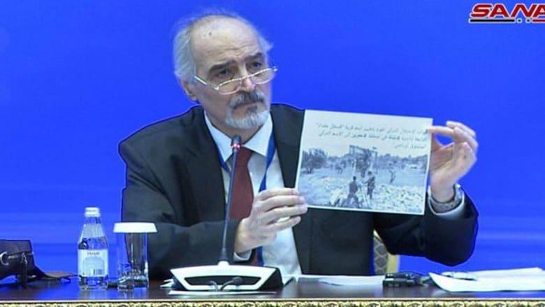"""الجعفري: تركيا تغير معالم مناطق بسوريا وتسميها بأسماء مثل """"سلجوق أوباصي"""""""