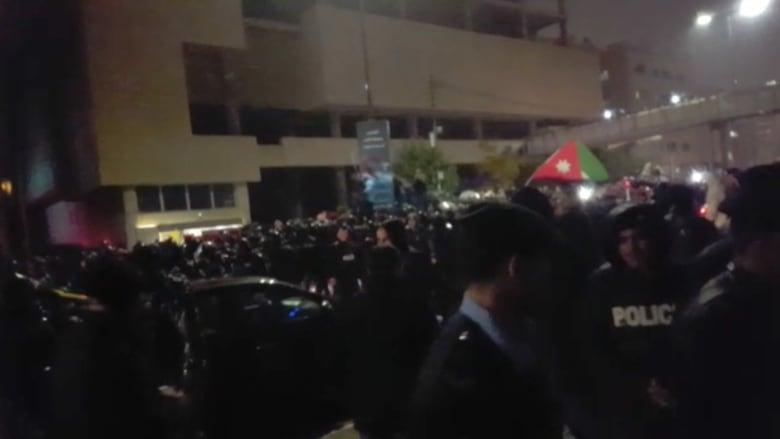 احتجاج في الأردن ضد قانون الضريبة ومطالب برحيل الحكومة