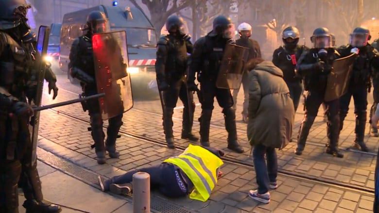 وزير الداخلية الفرنسية عن الاحتجاجات: الوضع تحت السيطرة
