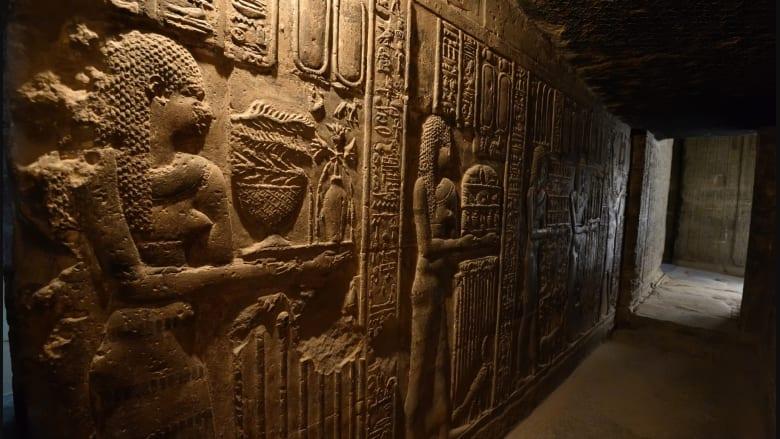 انظر داخل مقبرة عمرها 4400 عاما تم الحفاظ عليها جيدا