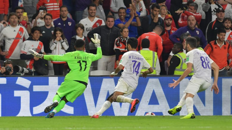 """العين على طريق """"زعامة العالم"""".. البنفسجي يقهر ريفربليت وينتظر ريال مدريد أو كاشيما في النهائي"""