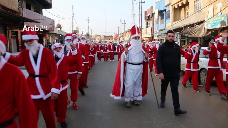 استعدادات المسيحيين في الموصل لاستقبال أعياد الميلاد
