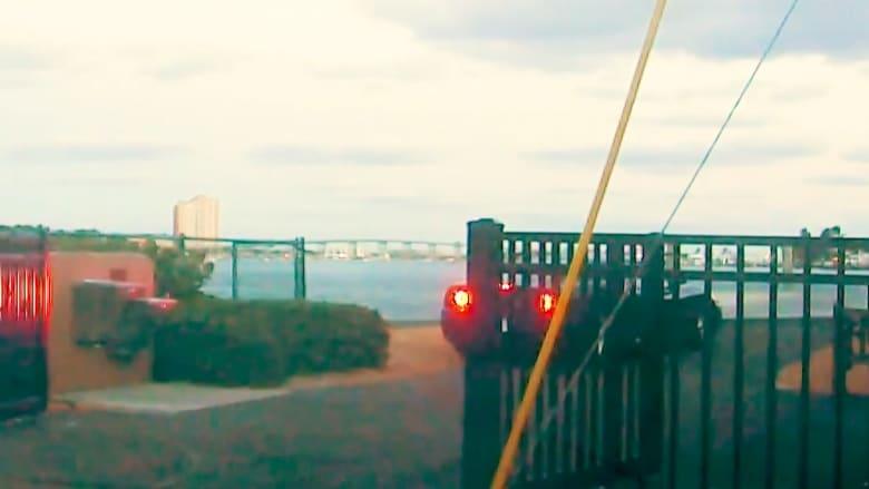 سائق فيراري يقودها بسرعة نحو الماء عن عمد.. شاهد ما حدث