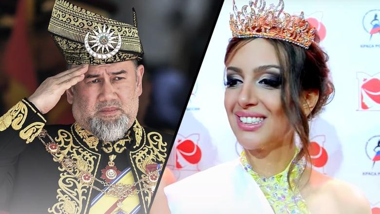 سلطان ماليزيا يعلن تنازله عن عرشه.. هل كانت حسناء روسية وراء ذلك؟