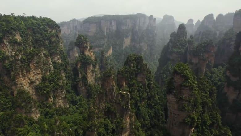 """هل اُستوحي الكوكب الخيالي في """"أفاتار"""" من هذه الحديقة بالصين؟"""