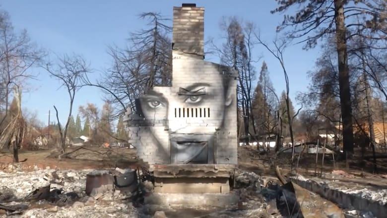 فنان يجلب الحياة إلى مدينة أمريكية اجتاحتها النيران.. كيف؟
