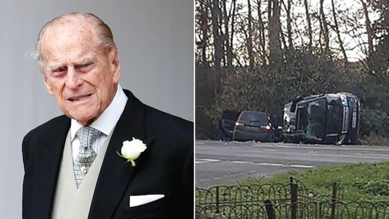بعد يومين من حادث.. الأمير فيليب يقود بدون حزام أمان