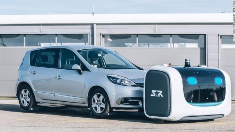 """الروبوت """"ستان"""" سينقذكم من ضغط صف السيارات في المطارات"""