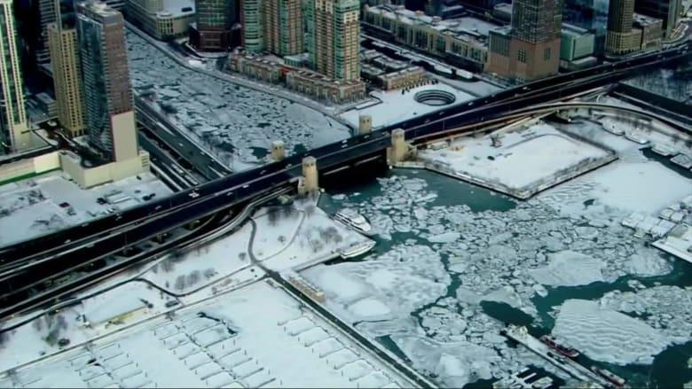 دوامة قطبية تجلب موجة برد لم تشهدها أمريكا منذ 25 عام