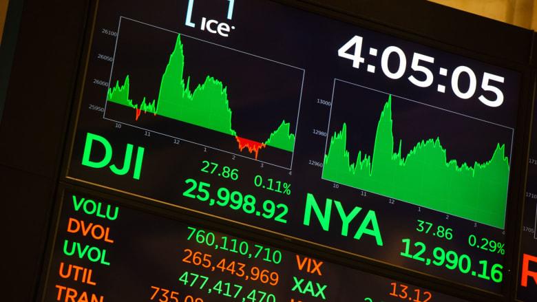 ما أكثر الشركات استفادة من ارتفاع الأسهم الأمريكية في 2018؟