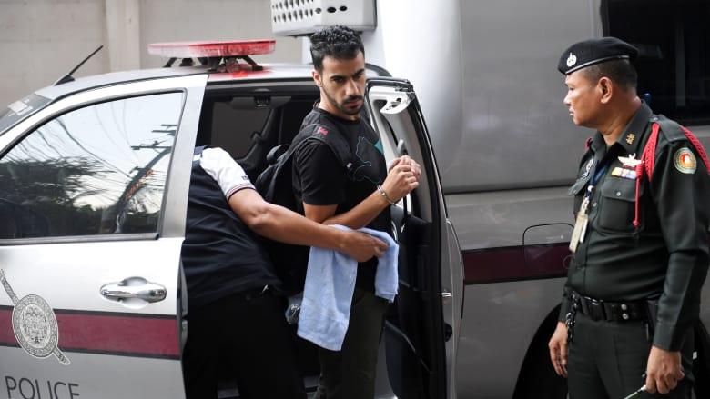 مظاهرات تطالب بالإفراج عن اللاعب البحريني حكيم العريبي