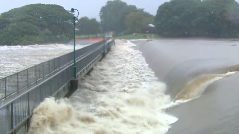 فيضانات شديدة في أستراليا والسلطات تطالب السكان بإخلاء منازل