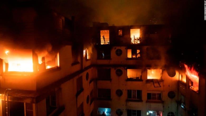10 قتلى جراء حريق التهم مبنى سكني في باريس